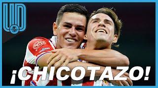 El futbolista rojiblanco convirtió en la serie tres golazos que le dieron el pase a las Chivas a semifinales del Guardianes 2020