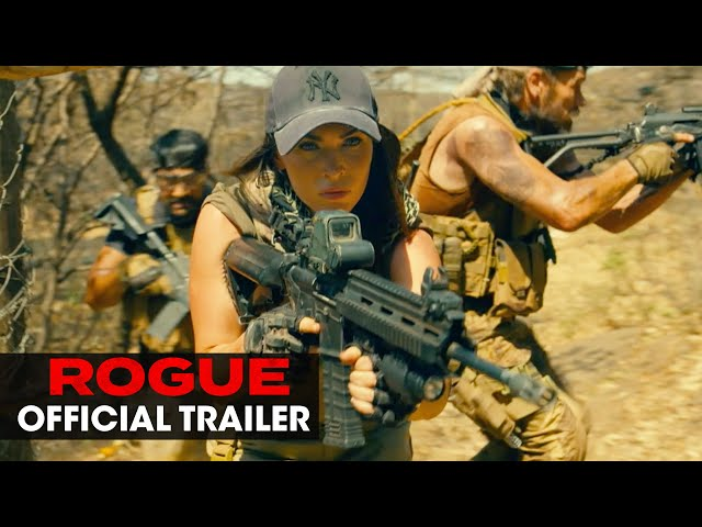 Rogue (2020 Movie) Official Trailer - Megan Fox, Philip Winchester
