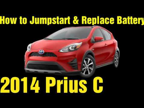 Prius C Jumpstart Battery Replacement Youtube