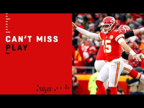 Can't-Miss Play: Mahomes' 50th TD pass goes 89 YARDS
