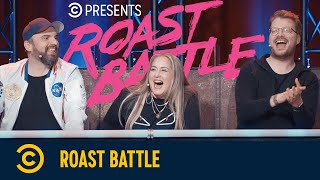 Roast Battle – Freddi Gralle vs. Falk Pyrczek & Carl Josef vs. Jan Overhause