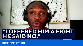 Kamaru Usman Says Conor McGregor is SCARED to Fight Him | CBS Sports HQ
