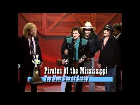 Pirates of the Mississippi Win Top New Vocal Group - ACM Awards 1991