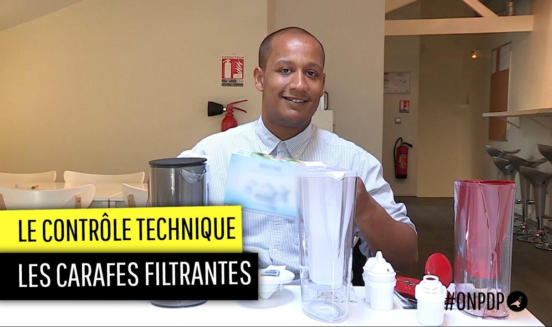 Contr le technique les carafes filtrantes youtube - Les carafes filtrantes ...
