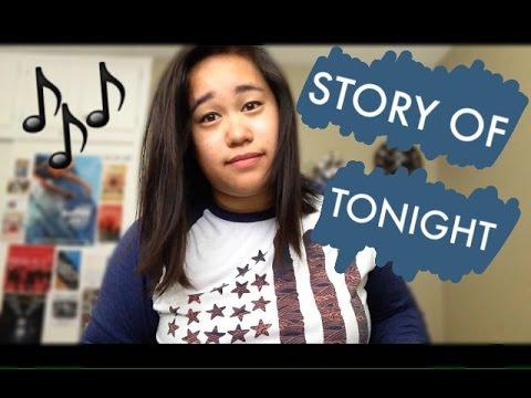 The Story Of Tonight - Hamilton Cover | Sarah Villacarillo