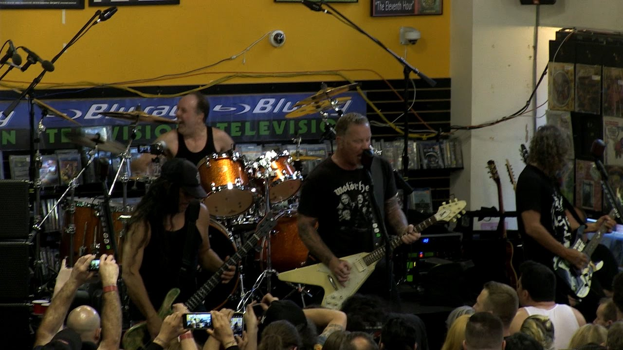 Store Metal Metallica Metal Militia Live On Record Store Day 2016