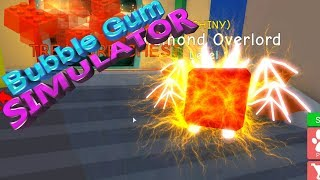 "Roblox Bubble Gum Simulator trouvé Shiny Dimond Overlord!🐺100k événement!🦊!"" 🐾🐕lire la description!🐕🐾"""