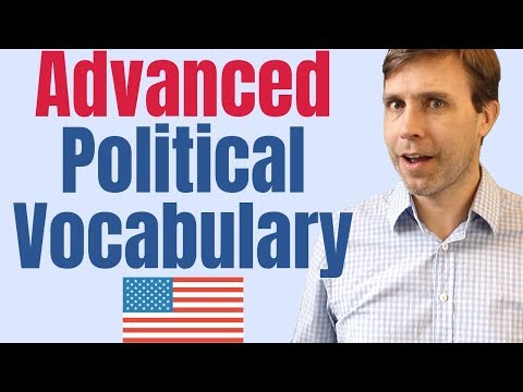Advanced Vocabulary to Understand American Politics 🇺🇸