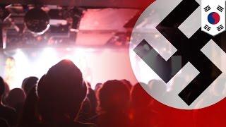 韓国アイドル「PRITZ」 ナチス風衣装が物議 ナチス酷似旗 検索動画 19