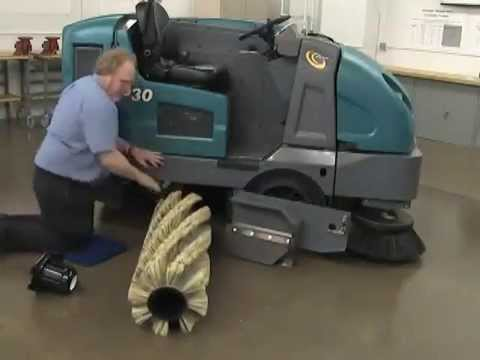 Tennant S30 Floor Sweeper Operator Training Youtube