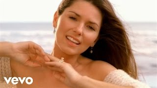 Shania Twain - Forever and for always (Official Music Video) (Red Version)