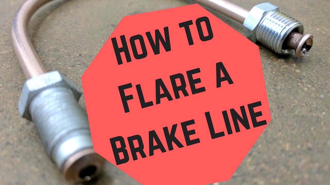 How To Flare A Brake Line >> How to Flare a Brake Line - YouTube