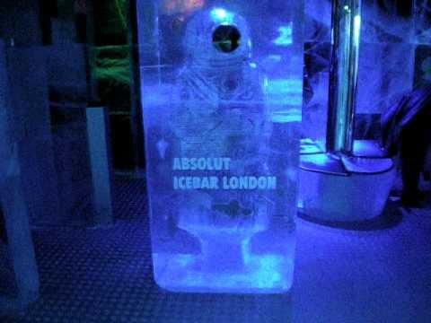 Absolut Ice Bar Icebar London YouTube