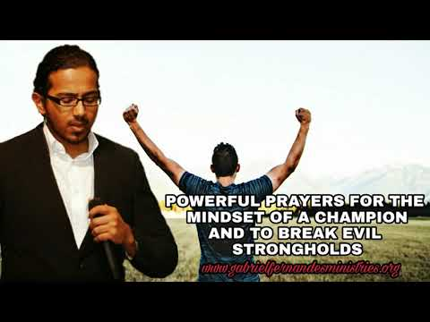 Powerful Scripture Prayers for A Winner mindset by Evangelist Gabriel Fernandes