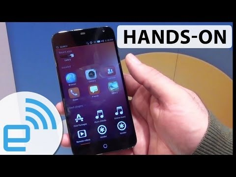 New Ubuntu Touch prototypes hands-on | Engadget at MWC 2014