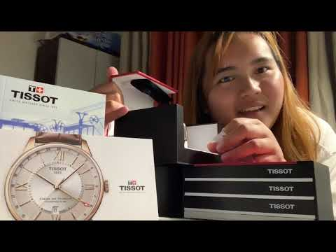 Unboxing TISSOT Watches