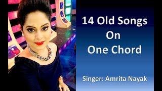 14 Old Bollywood Songs on One Chord   Amrita Nayak   Lyrical Video   Amrita Nayak