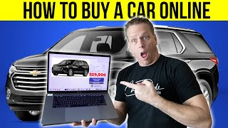 How to buy a car on the internet.