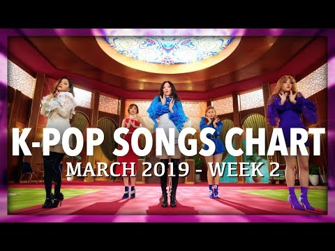 K-POP SONGS CHART  MARCH 2019 WEEK 2