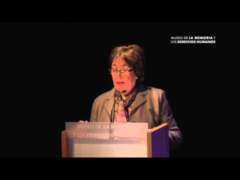 Discurso de Sofia Prats Cuthbert en homenaje a Carlos Prats y Sofía Cuthbert en MMDH