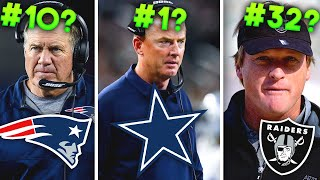 Ranking all 32 NFL Head Coaches of 2019 from WORST to FIRST
