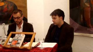 Rafael-José Díaz presenta su libro La Crepitación, Poesía reunida (1991-2006)