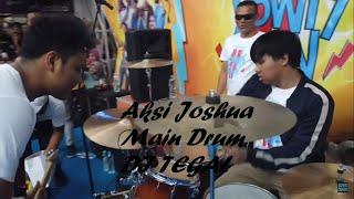 Live Tour Yowis Ben 2 Aksi Joshua main drum membuat penonton di TEGAL