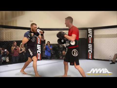 UFC 202: Conor McGregor Media Workout