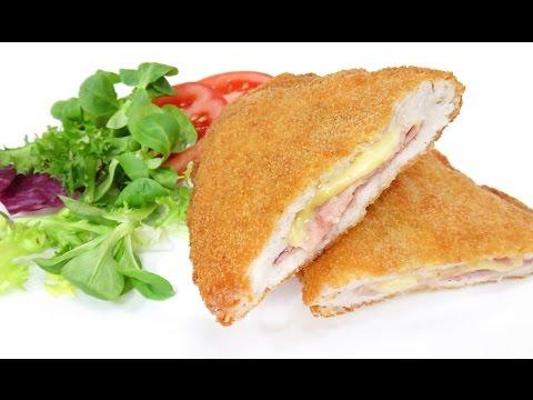 Pechugas de Pollo Rellenas de jamón y queso | Cordon Bleu | Milanesas