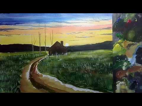 Oil painting classes | Oil painting basics for beginners | Evening oil painting lessons