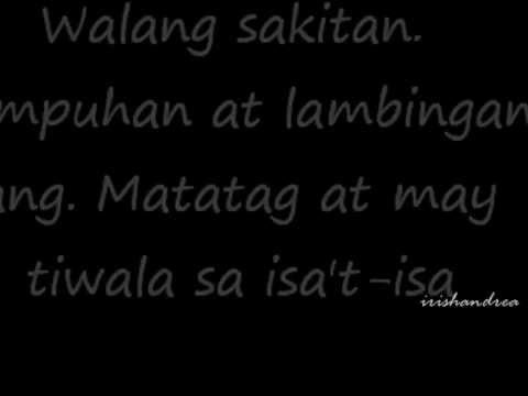 A letter for my next boyfriend tagalog .wmv youtube