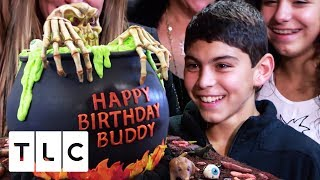 Buddy Junior's Halloween Cauldron Cake | Cake Boss