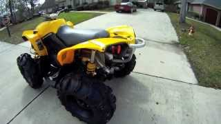 2012 Can Am Renegade 800 with Straight Pipe