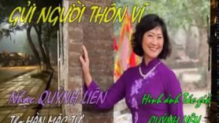 GỬI NGƯỜI THÔN VĨ Quỳnh Liên- Hàn Mặc Tử Guitar Hawaii CAODZAN 10DVD71