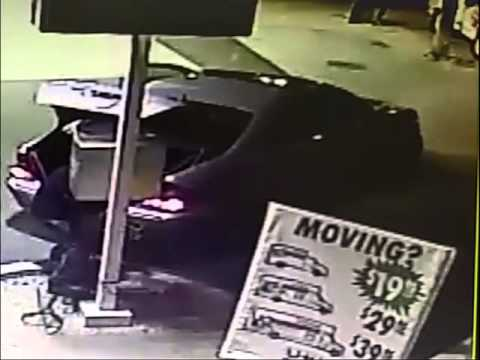 Bandits wanted for towing away air pumps from Queens gas stations