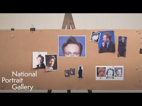 Conan O' Brien as seen by artist John Kascht