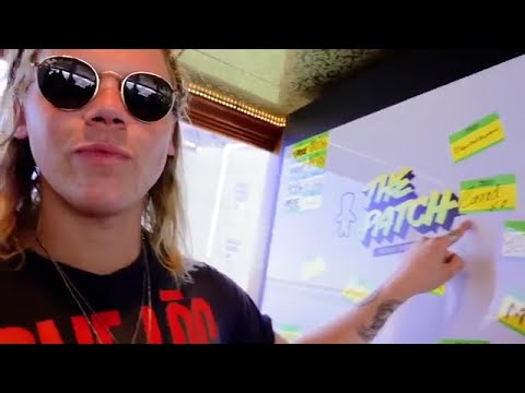 Behind The Scenes Interview with Conrad Sewell at The Patch