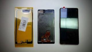 Sony Xperia Z1 Compact (D5503) Замена модуля, подстава от китайца.