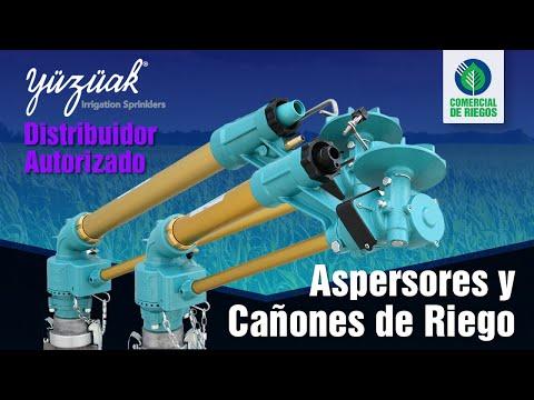 ASPERSORES Y CAÑONES DE RIEGO | Irrigación Yuzuak🌀| Riego por Aspersión |