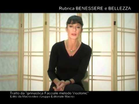 Visotonic: ginnastica facciale con Loredana De Michelis a Venere & Adone