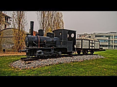 Dampflokomotive Krauss D Germany BJ 1904 - 2017 in Casale Monferrato Italy