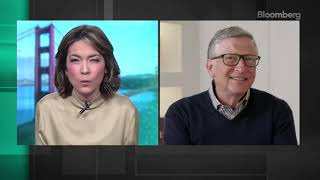 BILL GATES on BITĊOIN | New Interview | Other Topics: Climate Change & Misinformation | News