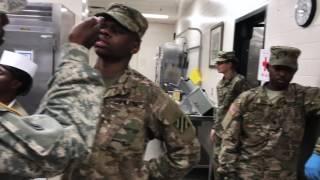 U.S. Army 92G Mannequin Challenge.