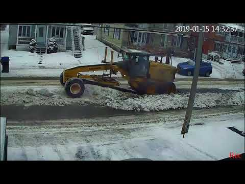 Snow Removal Perfection, Quebec Canada
