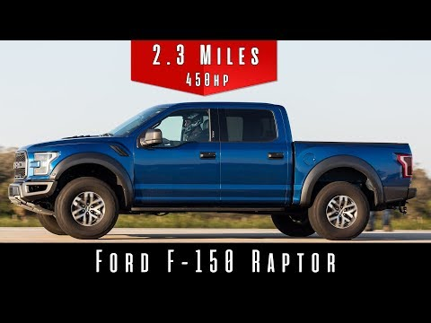 2018 Ford F150 Raptor (Top Speed Test)