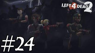 Let's Play Together Left 4 Dead 2 [German/Blind] *Part 24* - Streiken mal anders! 1/2