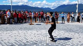 Vancouver EVENT: CANADA DAY CELEBRATION - Yoyo Champion HARRISON LEE at Canada Place, July 1, 2018