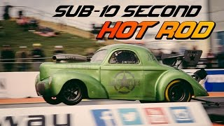 This Speed Junkie Drag Races A Sub-10 Second Hot Rod