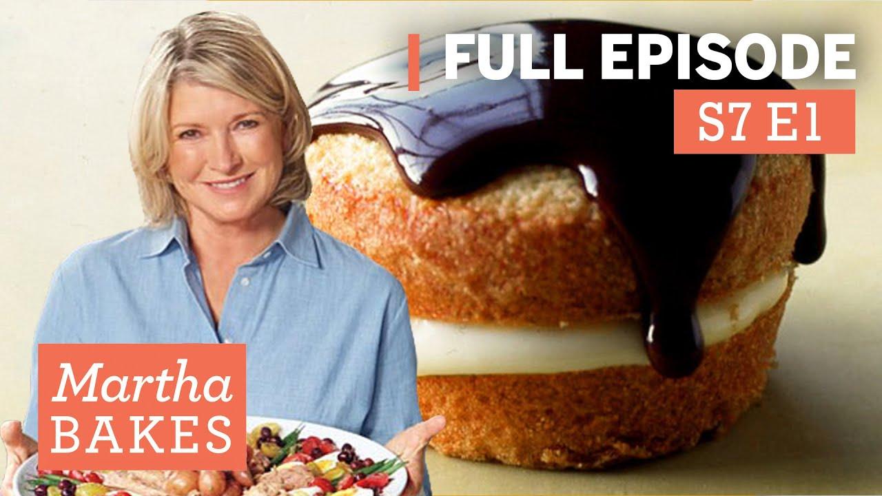 "Martha Stewart Makes Boston Cream Pies + Other Classics   S7E1 ""Classic New England"""