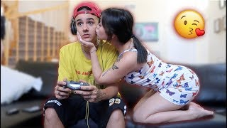 I Cant Stop Kissing You Prank!